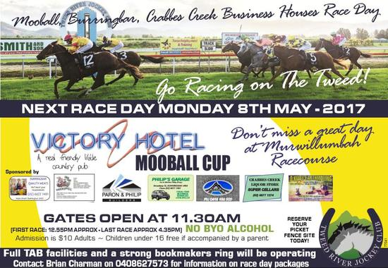 Racing Returns To The TRJC On May 8th,