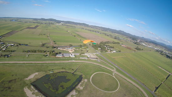 Gold Coast Skydive Arrives At The TRJC