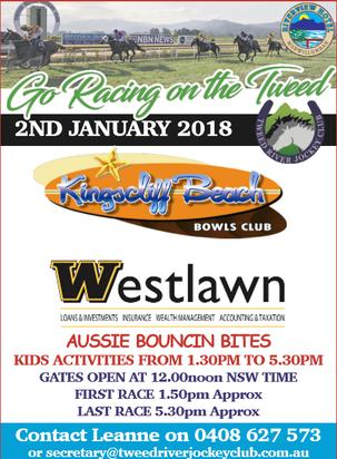 Come And Join In The Fun Of Country Racing On The Tweed January 2nd 2018