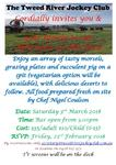 Join Us On March 3rd For This Years Non Race Day Function