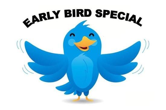 Membership Early Bird Specials