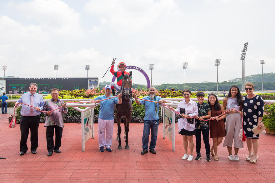 FANTASTIC FOUR ON RAFFLES CUP DAY