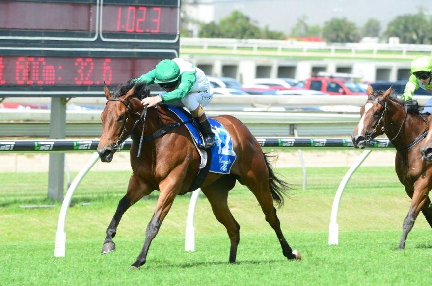 Barbie goes boom to land Doomben feature