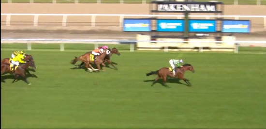 Willi Willi Returns With An Impressive 2nd Under Beau Mertens