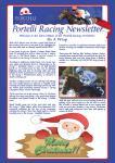 December Portelli Racing Newsletter