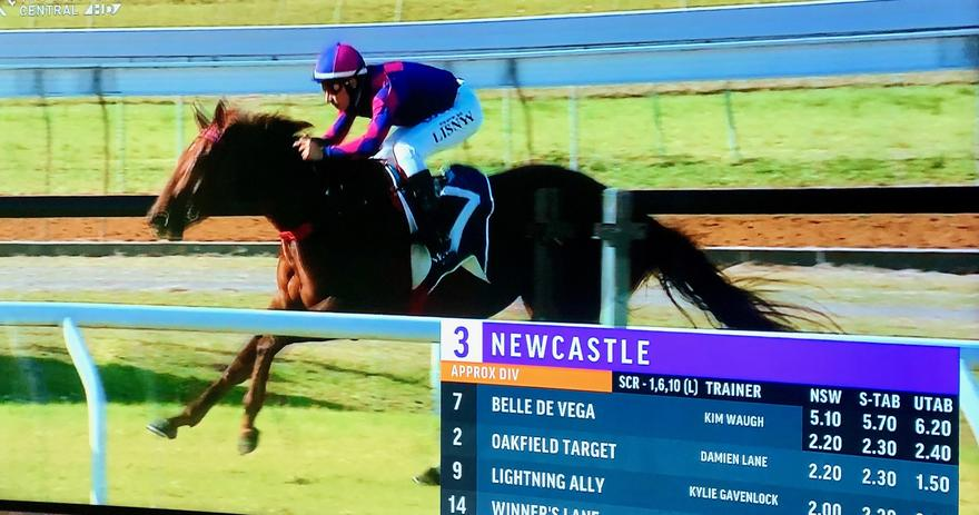 2 in a Row for Belle De Vega at Newcastle on Thursday!