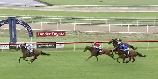 Trajection resumes with an easy victory at Hawkesbury on Saturday!