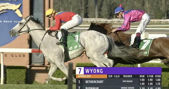 Talented Bethencourt Scores Impressive Win at Wyong!