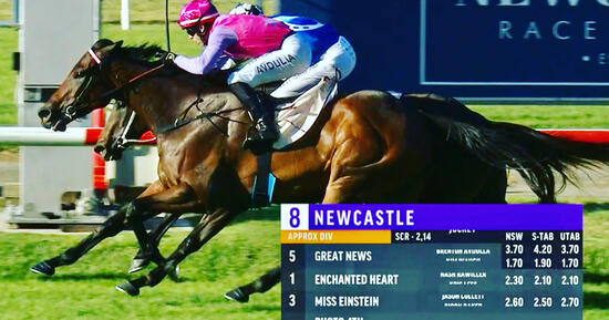 Great News Wins in Strong Fashion at Newcastle on Hunter Day!