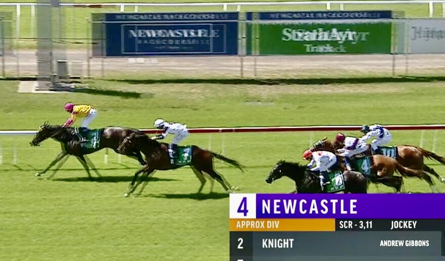 All the way Win to Knight at Newcastle on Saturday!