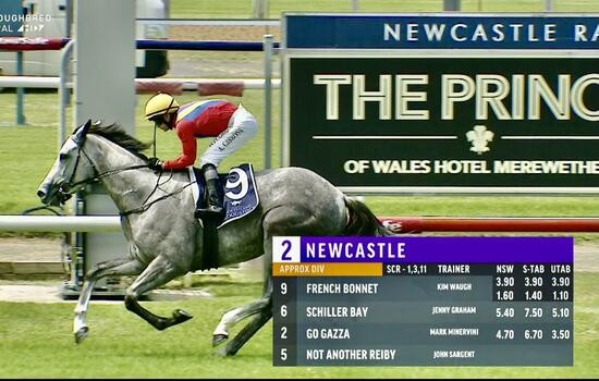 Winning Double to the Team at Newcastle on Boxing Day