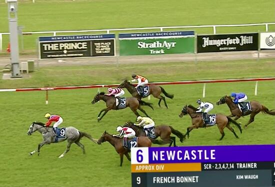 French Bonnet Makes it 3 Wins from 5 starts on the Weekend!
