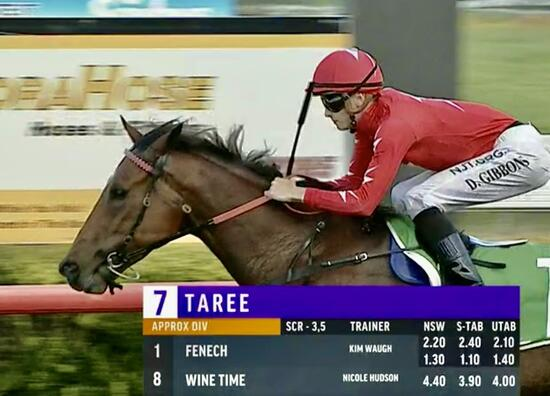 Fenech Wins on Debut for the Stable!