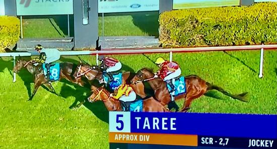 Black Jacamar makes it 2 wins from just the 3 starts!