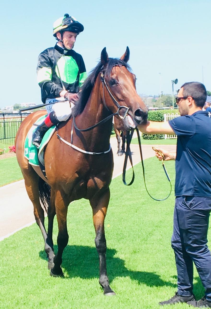 Greenspan Breaks Maiden at Newcastle today!