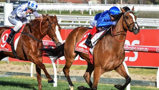 Saturday's G1 Caulfield Stakes in Melbourne