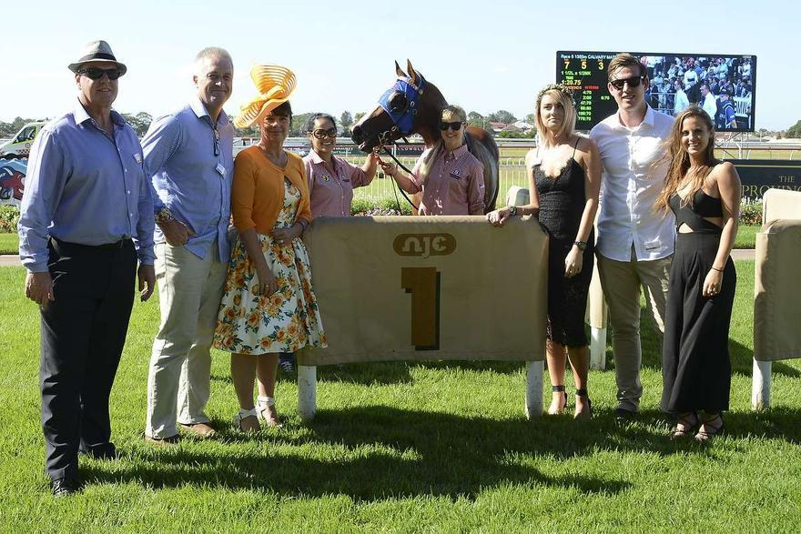 Aaralyn Arrives In Winners Circle