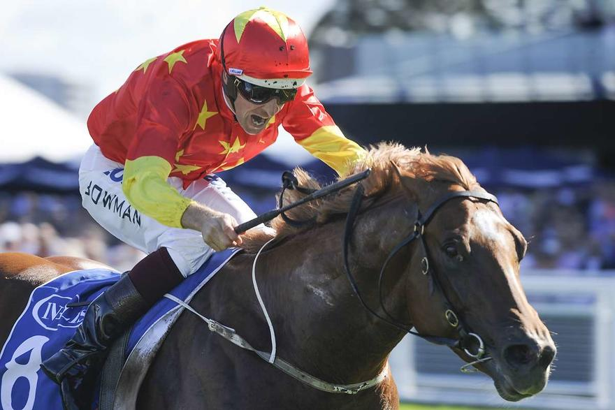 Invader Scores Group 1 Sires