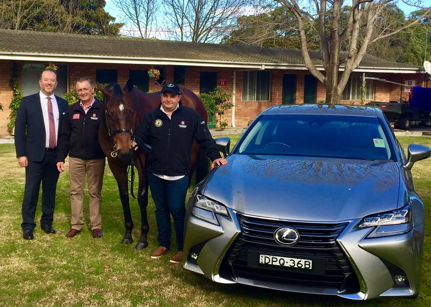 Snowden Racing & Sydney City Lexus Join Forces