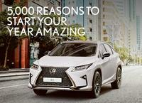 ​5000 reasons to Experience a Lexus