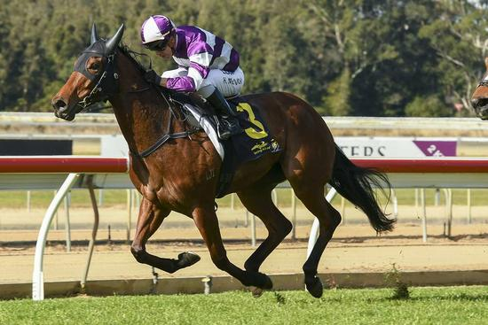 MCEVOY HITS THE SPOT WITH MISSILE CODA
