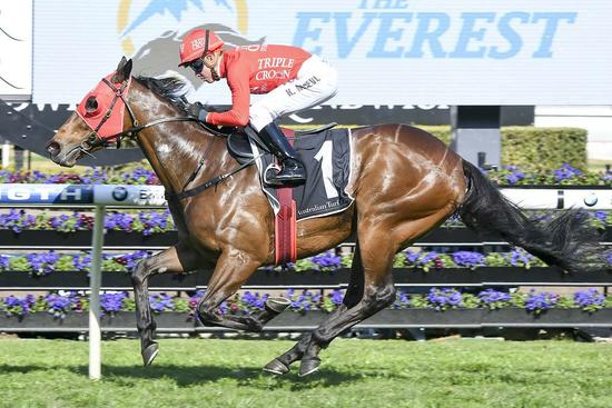 Redzel confirmed for crack at The Everest three-peat!