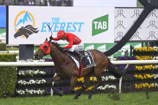 REDZEL WINS THE 2018 THE EVEREST