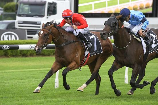 Belitsa salutes at second start