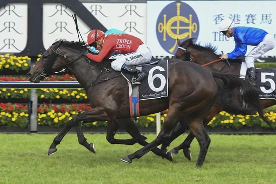 Moss Trip kicks up for crack at Coolmore.