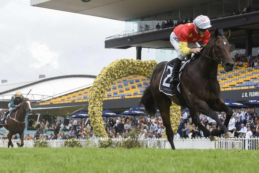 Golden Slipper favourite Cosmic Fore has timing and barrier on side