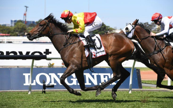 California Longbow hits the target at Rosehill