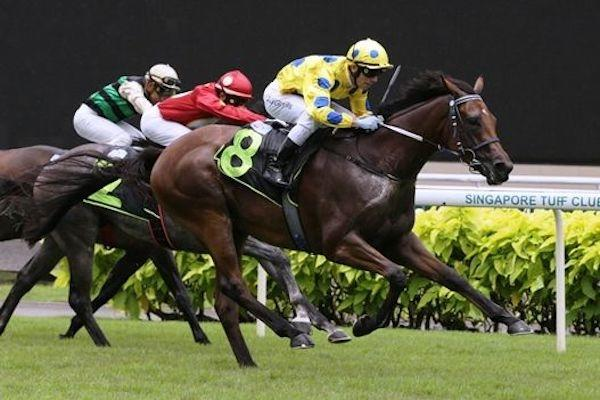 Freedman off the mark at Kranji with Mr Clint