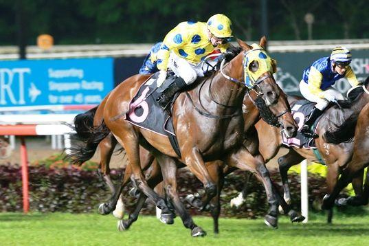 Mr Clint clinches his Guineas ticket with storming win