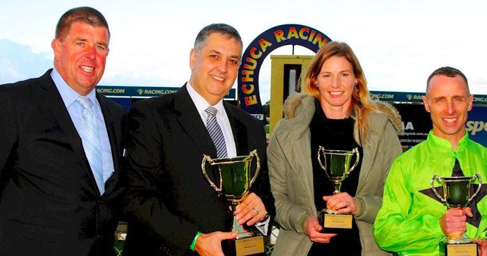 Tasmanian tourists take home Echuca Cup
