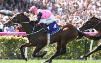 Flying Artie wins the Coolmore Stud Stakes