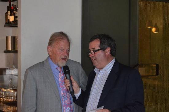 Rick Hore-Lacy a hit at final OBE Luncheon of 2014