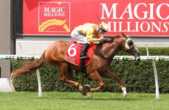 Positive ride lands Magic Millions Classic for Team Noonan