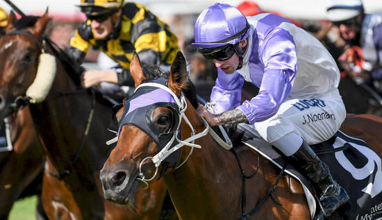 The Summer of Noonan continues with Group 3 win at Caulfield