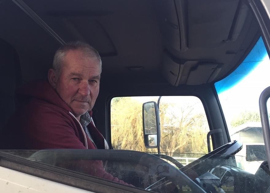 Ted in Truck.JPG