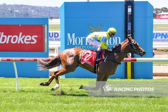Our Free Spirit kicks off prep in style, leading all the way at Mornington