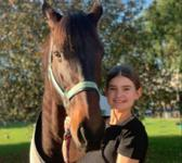 Steel of Madrid to commence dressage with budding young rider
