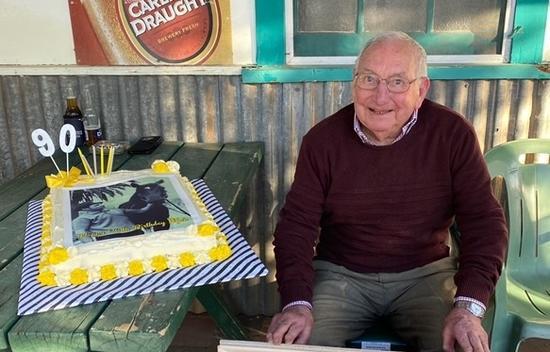Happy 90th Birthday Mick Robins