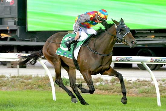 Ashleigh Rae fights them off at Cranbourne