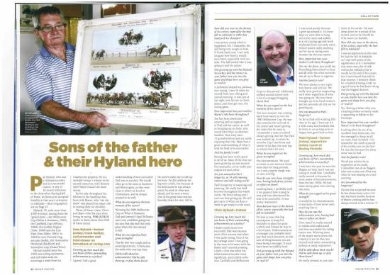 Sons of the father & their Hyland Hero