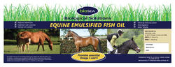 EQUINE EMULSIFIED FISH OIL